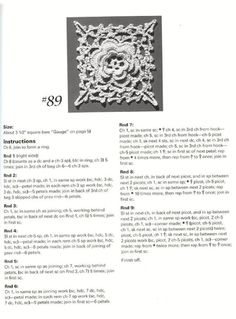 #ClippedOnIssuu from Crochet motifs for thread crochet