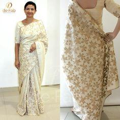 Cutwork Saree, Phulkari Saree, Kasavu Saree, Lehenga Saree, Silk Sarees, Indian Attire, Indian Wear, Bandhini Saree, Velvet Saree