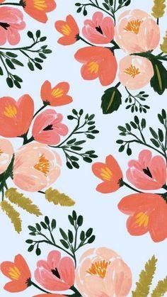 Floral Wallpaper iPhone - PixelsTalk.Net