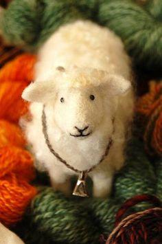 felted lamb from Bear Creek Design & Felting