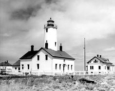 New Dungeness Light Station in Clallam County, Washington.