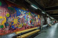 Stockholm Subway Graffiti