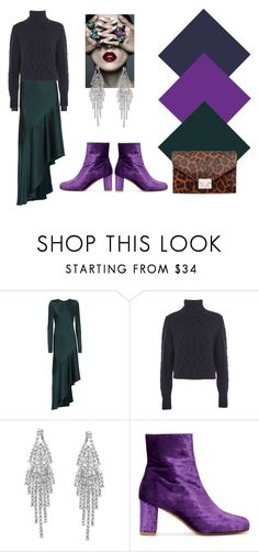 """""""A touch of purple"""" by melange-style ❤ liked on Polyvore featuring Haider Ackermann, Topshop, Humble Chic, Maryam Nassir Zadeh and Loeffler Randall"""