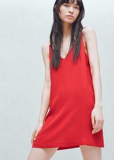 Appliqués dress | MANGO