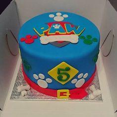 Torta de la Patrulla Canina. Ideal para una fiesta temática.#PatrullaCanina #tarta