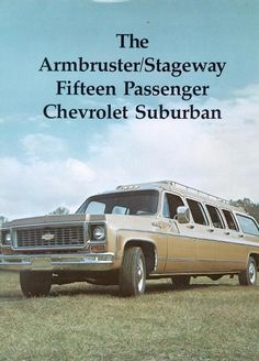1973 Chevy Suburban Limo-01