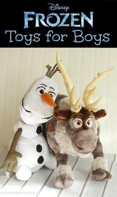 Disney Frozen Toys for Boys! Great gift ideas for the little boys Frozen fans via momendeavors.com #DisneyFrozen #Frozen