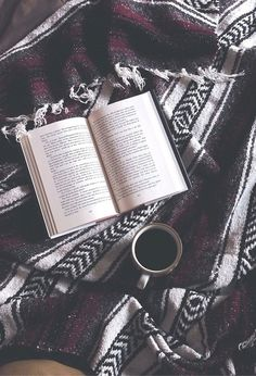 Cuddle up with a good book and a cup of TOMS Roasting Co. Coffee for a relaxing escape.