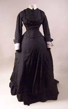 Mourning dress 1874