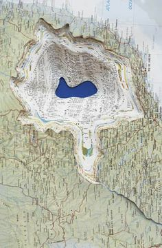 Maya Lin.  - map art