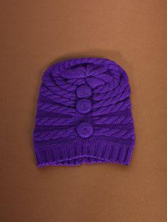 Sophia Costas Cashmere Bella Hat in Purple