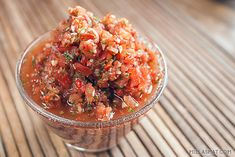 Klassisk spansk tomatsalsa | Millas Mat