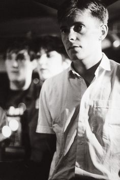 New Order, Paradise Garage, New York City, photo by Kevin Cummins 1983 via