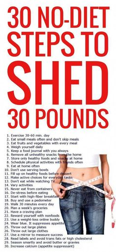 30 no-dieting tips to lose 30 pounds fast. fast diet tips Loose Weight, How To Lose Weight Fast, Weight Loss Program, Weight Loss Tips, Losing Weight, Get Healthy, Healthy Weight, Healthy Habits, Healthy Tips
