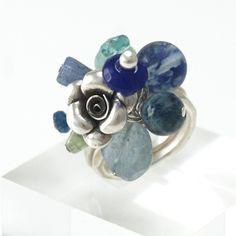 Riley Burnett spring blue Ring <3
