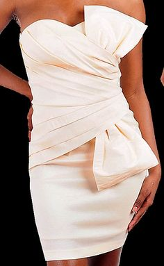 perfect wedding reception dress #ivory