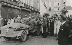 September 1944, bevrijders op de Bongerd