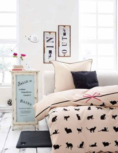 Modern Kids Room Cat Decor Crazy Cat Lady Kitten Bedroom Girls Bedroom French Decor Pink And Gold Mint And Gold Crazy Cat Lady Pinterest