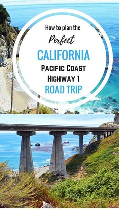 The ultimate planning guide for a California Pacific Coast Highway 1 Road Trip. It includes all of the sightseeing stops, things to do, places to EAT, and where to stay. It includes breathtaking photos and itineraries to help you plan the ultimate road tr Pacific Coast Highway, West Coast Road Trip, Road Trip Usa, Highway 1 Roadtrip, Highway Road, San Diego, San Francisco, California Vacation, California Coast