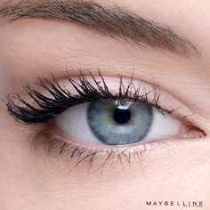 Want flared, winged-out lashes without having to deal with fake eyelashes? Get the look with Maybelline Push Up Angel Mascara! No falsies required.
