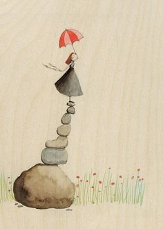 Leap of faith by LilyMoon on Etsy, $12.00