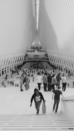 Calatrava's Oculus at the World Trade Center