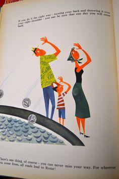 Vintage Children's Book This is Rome Miroslav Sasek by misseileen