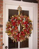 Large Gala Christmas Wreath.....