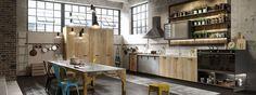 cucina industrial Loft