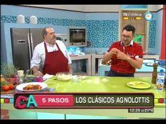 Receta Agnolottis en 5 pasos Parte 2 Cocineros Argentinos