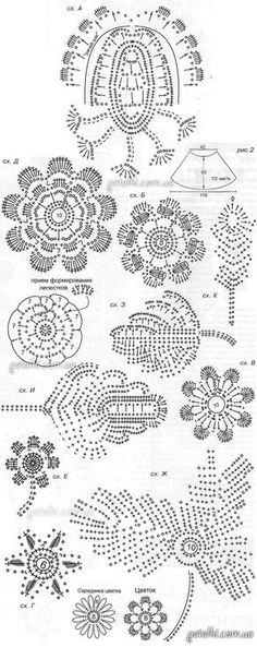 Filet Crochet, Freeform Crochet, Crochet Art, Crochet Flowers, Crochet Stitches, Irish Crochet Patterns, Lace Patterns, Crochet Designs, Crochet Embellishments