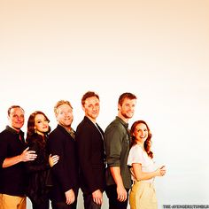 The Cast of Thor. // ... I... I thought this was from a sitcom at first... O.o (-SG. I would SO WATCH THAT.) So would I! -TE