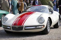 1965 Alfa Romeo Giulia Sprint, by Pinin Farina.