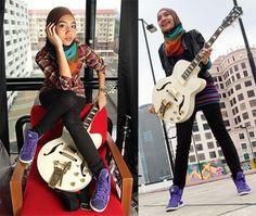 Yuna Singer, Yuna Zarai, Singer Fashion, Modern Hijab, Hijabi Girl, Cloud 9, Look Alike, Modest Fashion, How To Look Pretty