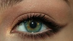 Brown eyeliner/eyeshadow