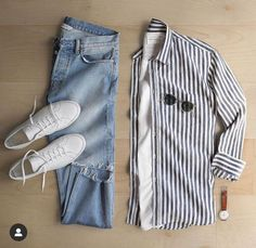 Outfit Hombre Casual, Mens Casual Dress Outfits, Formal Men Outfit, Stylish Mens Outfits, Mens Fashion Blog, Men's Fashion, Fashion Outfits, Mens Shirts Online, Outfit Grid