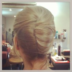 Mother of the bride hairstyles, wedding hair, French twist, classic hairstyles