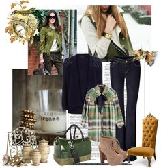 """Green thursday"" by sarapires on Polyvore"