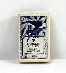Les familles des fables de La Fontaine