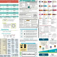 10 Clever And Handy Cheat Sheets To Help You Crochet Like A Pro - Knit And Crochet DailyKnit And Crochet Daily