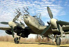 Messerschmitt Bf 110G-4  by Ian Robertson