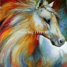 Afbeeldingsresultaat voor schilderen paarden
