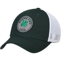 size 40 50e0b ce9fd Michigan State Spartans Top of the World NCAA Luck City Trucker Adjustable  Hat – Green