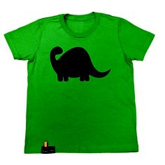 Dino Chalk Tee Youth, $15.25, now featured on Fab.