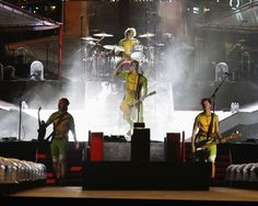 I'm so glad I got to see this! Only 5sos would be dressed up as ninja turtles until Luke changed. But I would have to say they are amazing live!  WWA Tour: Miami - October 05, 2014