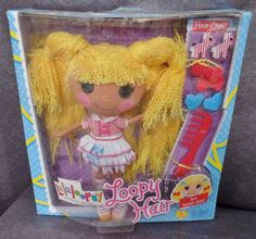 Description: Lalaloopsy Loopy Hair Spot Splatter Splash With Hair Clips Ages 4 and Up/  Item ID: 108 TARGET