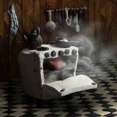 horno plasticina Chair, Furniture, Home Decor, Oven, Peace, Decoration Home, Room Decor, Home Furnishings, Stool