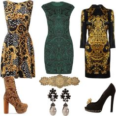 """Baroque"" by itscatherine on Polyvore"