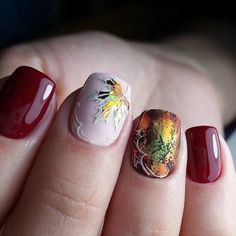 Evening short nails Short red nails Two color nails White nail art Best Nail Art Designs, Winter Nail Designs, Halloween Nail Designs, Two Color Nails, Nail Colors, Autumn Nails, Winter Nails, Short Red Nails, Crome Nails
