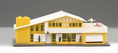 A teeny doll house for your doll house (N model train scale)